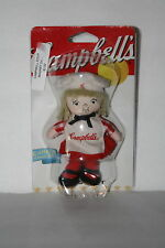 NEW~ 2002 CAMBELL KIDS SOUP GIRL MAGNET A. ARONSON #60085