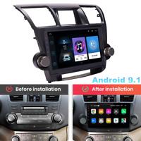 "10.1"" For 08-13 Toyota Highlander Android 9.1 GPS Radio Navigation Player 1+16GB"