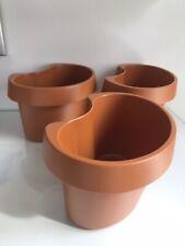 Plastic Plant Pots Railings Balcony Flower Garden Planter Balcony Railing Pipe🌈