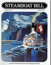 #216 Steamboat Bill- Nile River Steamers, Ship of Year - SSHSA sHiPs WORLDWIDE