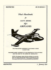 NORTH AMERICAN FJ-2 FURY U.S.NAVY FLIGHT HANDBOOK AN 01-60JKB-1 1953