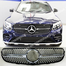 Mercedes GLC;COUPE,x253/c253 AMG GLC43 GLC63 look,diamond GRILLE,GLC220D,GLC250D