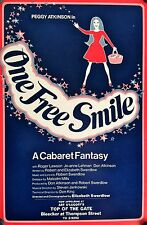 ONE FREE SMILE WINDOW CARD POSTER