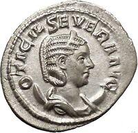 Otacilia Severa wife of Philip I Arab Silver Ancient Roman Coin Loyalty  i52056