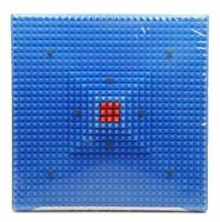 Acupressure Reflexology Magnetic Energy Pain Relief Power Foot Health Deluxe Mat