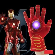 The Avengers Age of Iron Man Hand Gloves with Light and Sound Kids Cosplay Toys