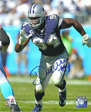 Demarcus Ware Autographed/Signed Dallas Cowboys 8x10 Photo 13730 PF