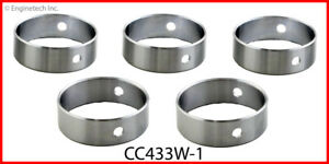 Enginetech Camshaft Bearing Set CC433W-1