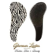 Zebra Mane Tamer Banishes Tangles By Teasing Out Professional Quality Hair Brush