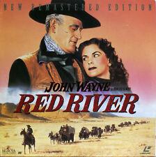RED RIVER John Wayne Montgomery Clift Joanne Dru Laserdisc LD NTSC