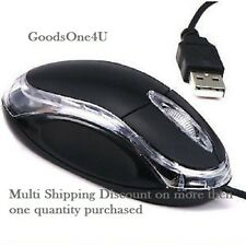 3D OPTICAL USB WIRED MINI MOUSE For PC Desktop Laptop Notebook Computer COD