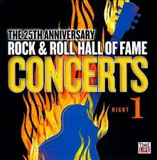 Time Life 25th Anniversary Rock & Roll Hall of Fame Concerts Night 1 CD New