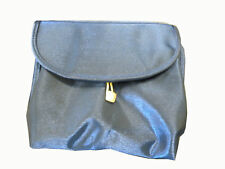 Guerlain Travel Zippered Hook Blue Cosmetic Bag