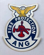 Fire Protection Air National Guard Sticker Decal (Vintage)