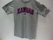 NCAA KANSAS JAY HAWKS EMBROIDERED T-SHIRT NCAA (S)