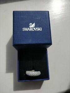 Swarovski Crystal Ring Size I 1/2 To J1/2