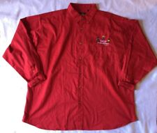 Teacher 4XL Shirts Red Womens Button Down Collar Plus Size Kids Daycare School