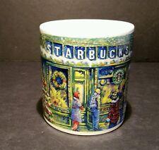 Starbucks Barista Holiday Coffee Tea Mug 20 Oz 2000 Snow Santa Christmas Tree