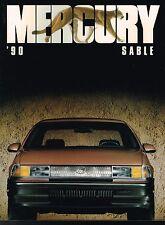 1990 Mercury SABLE Brochure / Catalog : GS, LS, Station Wagon