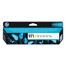 HP 971 (Yield: 2,500 Pages) Yellow Ink Cartridge