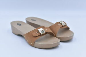 Women's Dr Scholl's Classic Slide Sandals, Saddle Brown, 10M