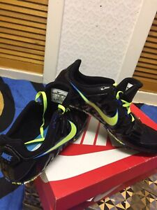 """NIKE  ZOOM RIVAL-UNISEX-FIELD&TRACK RUNNING SHOES -SIZE UK 11""""- EUR 45""""-US- 11"""""""