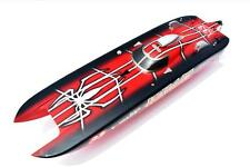 Bare Hull DT G30E Spider 30CC Engine Gas RC Racing Speed Boat Fiber Glass KIT