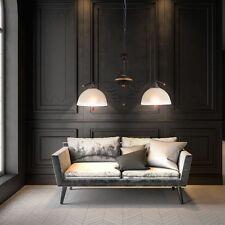 Plafonnier Luminaire suspendu Lustre lustre couleur dorée Verre Style Campagnard