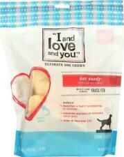 I and Love You Dog Chews Ear Candy Beef 5 Count Case of 6