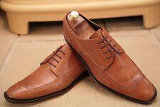 Paul Smith Men's Tan en cuir richelieu à Chaussures Taille UK 8