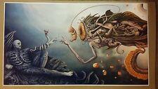 "God Space Trip GIANT WIDE Size 42"" x 24"" Evil Art Prometheus Trip psychedelic"