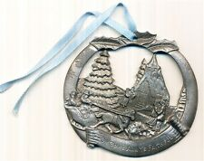 Jt'S General Store Pewter Christmas Ornament Oh Come All Ye Faithful