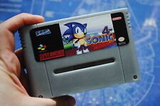 Parody Pal SNES Nintendo Cart Soap:Sonic Retro  geeky! Handmade cartridge soap A