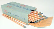 "CARBON ARC RODS for 35mm FILM PROJECTION  1 BOX of 7/16"" x 9"" NATIONAL NEGATIVES"