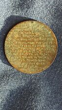Georges V - Prayer Engraved - Half Penny