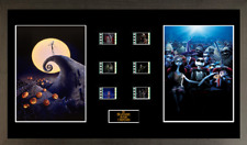 Nightmare Before Christmas 6 cell film cell style display 16 x 8 FRAMED