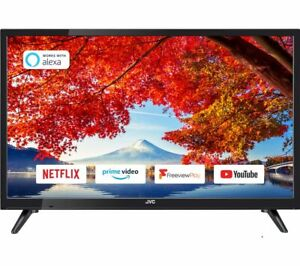 """JVC LT-24C605 24"""" Smart HD Ready HDR LED TV with Built-in DVD Player - Currys"""