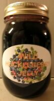 Fresh WILD HUCKLEBERRY JELLY Pint (16 oz.), I Also Have Smaller Sizes