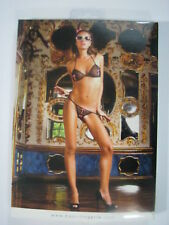 Baci Lingerie Heart Mesh Peek-A-Boo Bikini Set ONE SIZE #29
