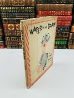 1945 ~ Water on the Brain ~ Virgil Partch ~ 1st Edition Hardcover w/ Dust Jacket