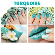 """4 Wall Decoration Turquoise Salon Spa Themed Murals on Canvas Nail 36"""" x 24"""""""