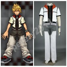 Custom-made Kingdom Hearts Game Roxas Halloween Cosplay Costume