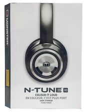 Monster N-TUNE HD On-Ear Noise Isolating Headphones - Dark Titanium