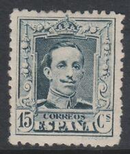 España - 1922/9, 15 C de profundidad verdoso Sello de pizarra-M/M-SG 381 A