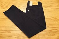 NWT MENS LEVI CORDUROY PANTS 502 Multiple Sizes Taper Stretch Nightwatch Blue