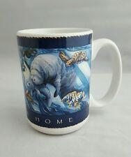 Home Sea Home ~ Jody Bergsma ~ Manatee Sea Life Art Coffee Cup Mug