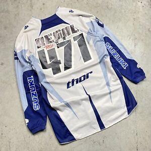 Kyle Regal's Race Worn & Signed 2008 Thor MX Rockstar Suzuki Motocross Jersey
