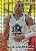 2014-15 Panini Prizm Basketball YellowRed Mosaic Prll #77 Andre Iguodala