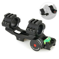 "1""/ 30mm Ring 20mm Picatinny Rail Mount & Bubble Level Scope Angle Indicator"
