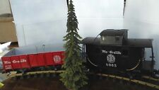 """LGB O S Scale Model Trains 12"""" Green Spruce Pine Tree Layout Landscaping Build"""